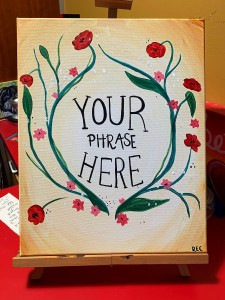 """""""Your Phrase Here"""""""