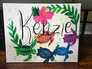 Kenzie Name Sign
