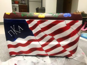 Pike American Flag