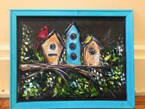 Birdhouse Screen