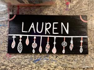 Lauren Name Sign