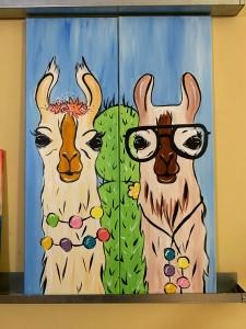Goofy Llama Couple