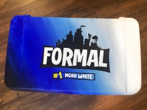 Fortnite Themed Formal painting on cooler