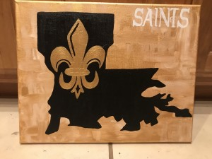 Freehand Saints Painting
